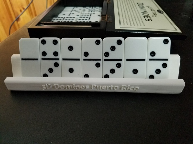 Domino Stand - Puerto Rico 3D Print 23688