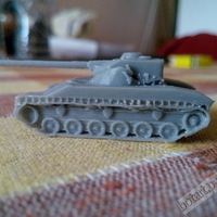 Small WOT - Bat.-Chatillon 25 t - BC25T 3D Printing 2374