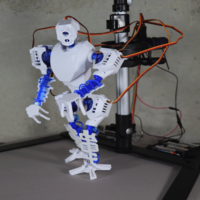 Small MT-20 : Animated Hybrid Robot 3D Printing 2375