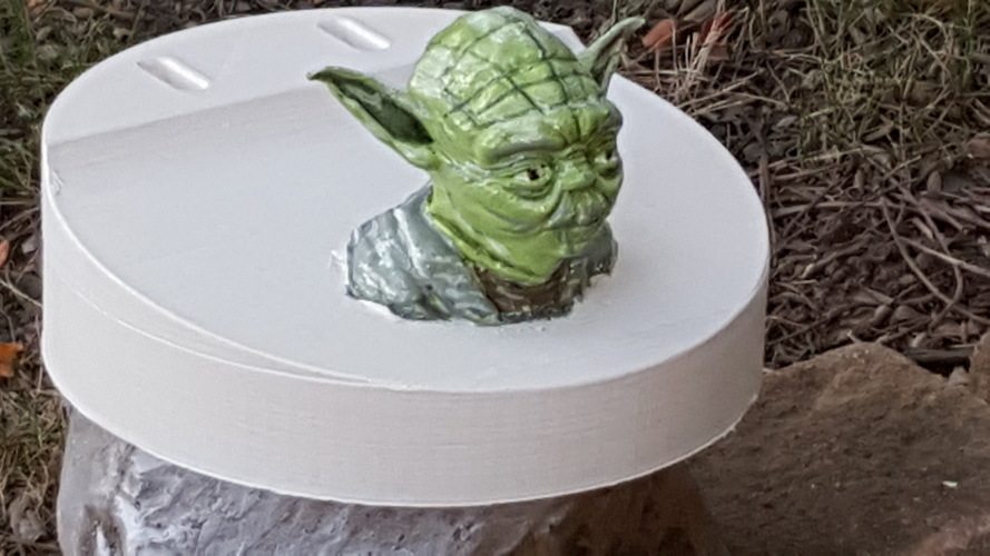 Yoda - Star Wars Headphone Stand 3D Print 23797