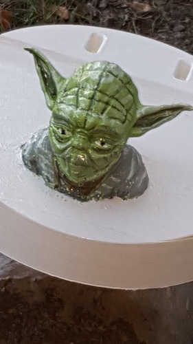 Yoda - Star Wars Headphone Stand 3D Print 23799