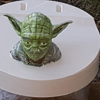 Small Yoda - Star Wars Headphone Stand 3D Printing 23800