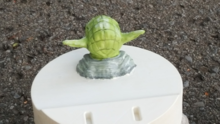 Yoda - Star Wars Headphone Stand 3D Print 23801