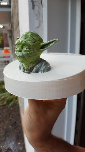 Yoda - Star Wars Headphone Stand 3D Print 23810