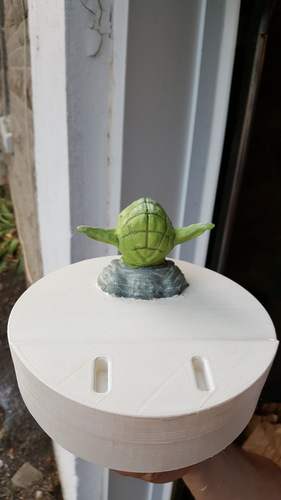 Yoda - Star Wars Headphone Stand 3D Print 23811