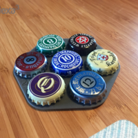 Small Coaster - Custom Bottle Top 3D Printing 23872