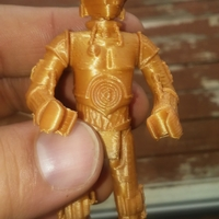 Small C3PO 3D Printing 23923