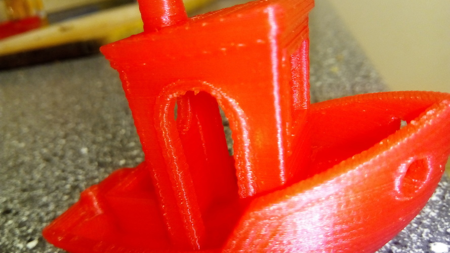 #3DBenchy - The jolly 3D printing torture-test 3D Print 23937