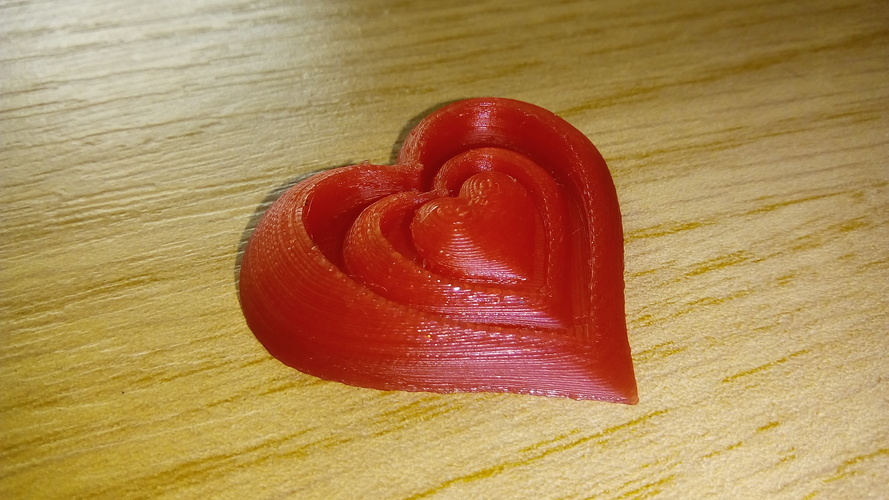 Synergy of Love Heart Motif 3D Print 23947