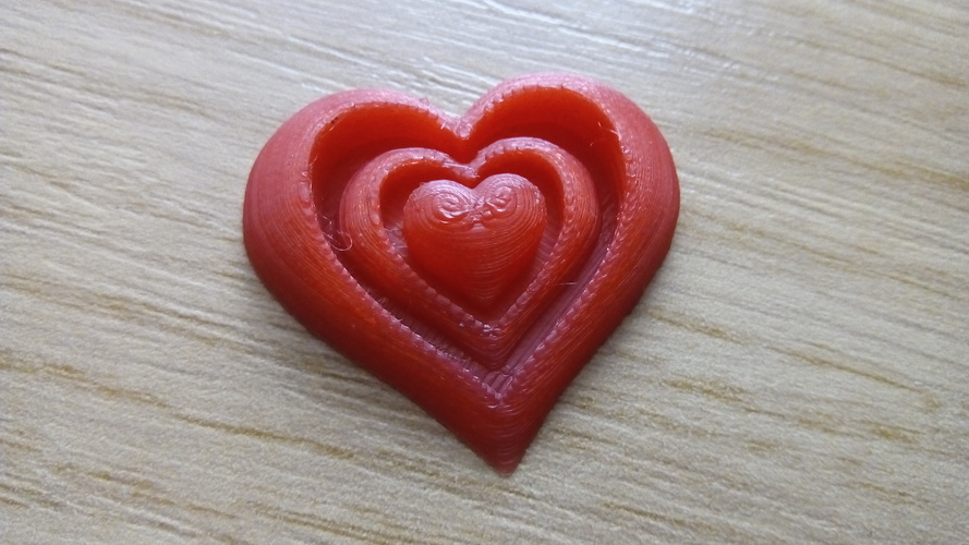 Synergy of Love Heart Motif 3D Print 23948