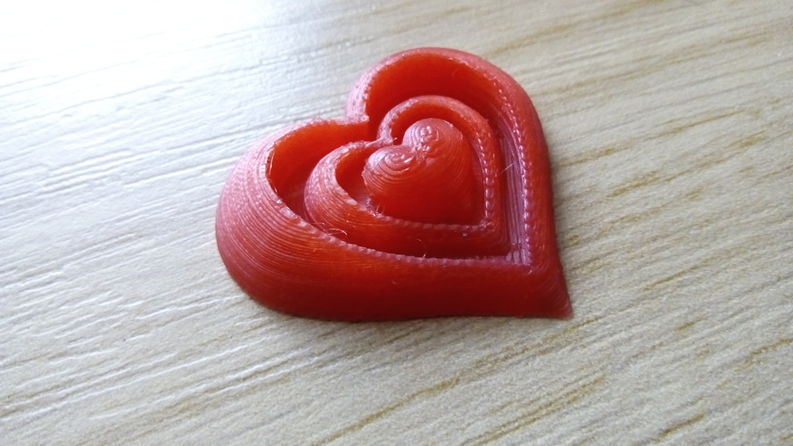 Synergy of Love Heart Motif 3D Print 23949