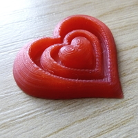 Small Synergy of Love Heart Motif 3D Printing 23949