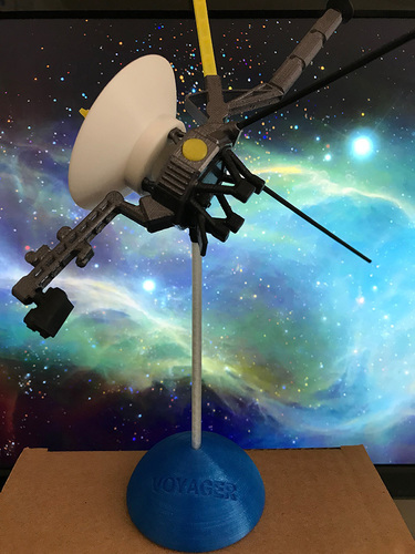 Voyager Satellite Desktop Model 3D Print 23952