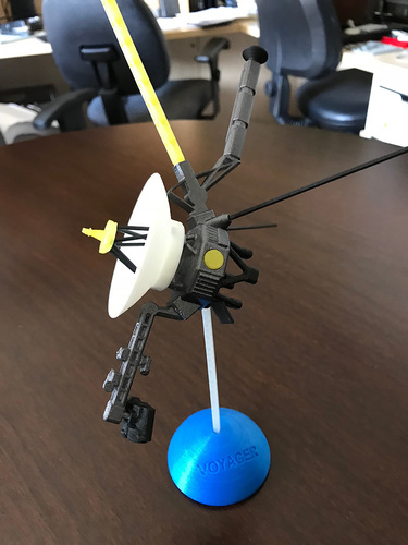 Voyager Satellite Desktop Model 3D Print 23953