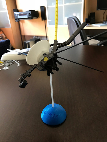 Voyager Satellite Desktop Model 3D Print 23954