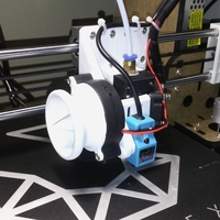 Small blower fan cover 3D Printing 23985