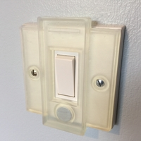 Small Hue UK Switch Plate Cover 3D Printing 24003