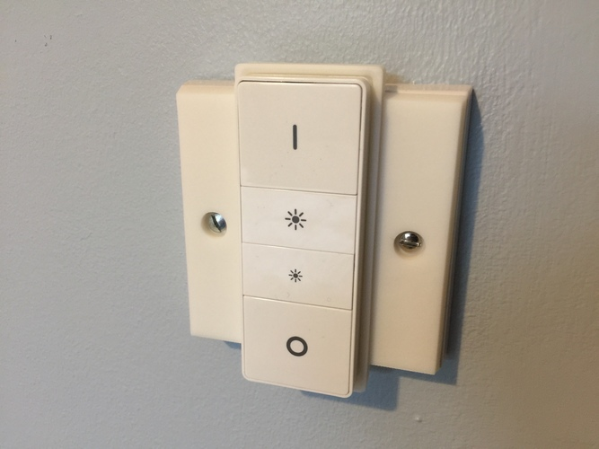 Hue UK Switch Plate Cover 3D Print 24011