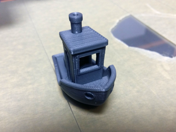#3DBenchy - The jolly 3D printing torture-test 3D Print 24036