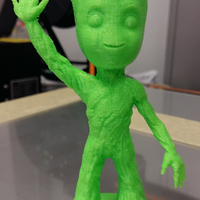 Small baby groot standing waving 3D Printing 24059