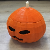 Small Candy Pumpkin 3D Printing 24268