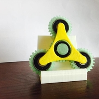 Small Geared Spinner 3D Printing 24287