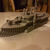 Small Albion Class Demi-Dreadnought 3D Printing 24321