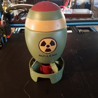 Small Nuclear bomb 3D Printing 24452