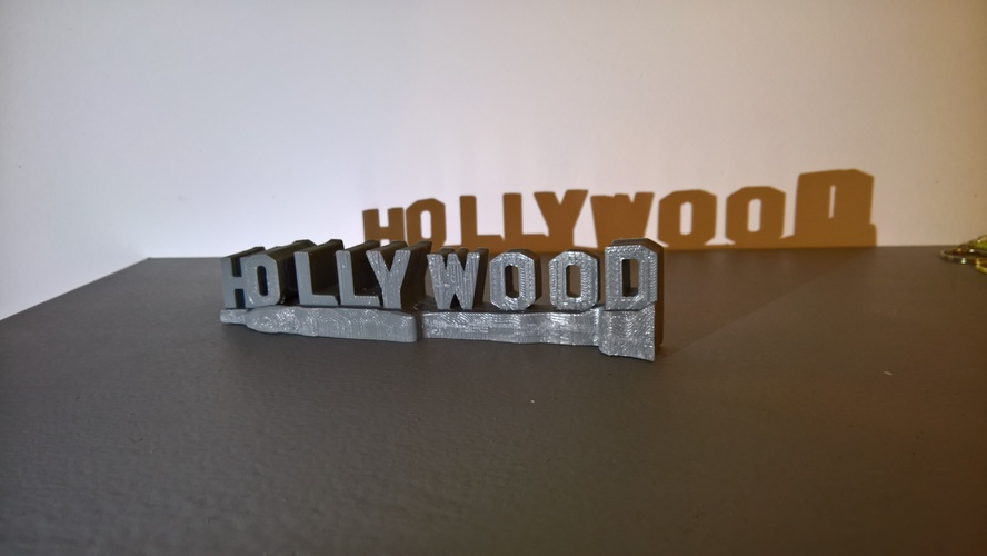 HOLLYWOOD sign 3D Print 24471