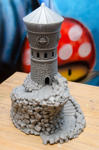 Forbidden Watchtower 3D Print 24488