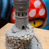 Small Forbidden Watchtower 3D Printing 24488