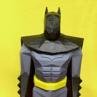 Small Batman Low Poly 3D Printing 24511