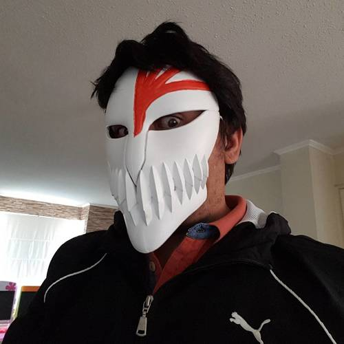 Bleach Mask 3D Print 24607