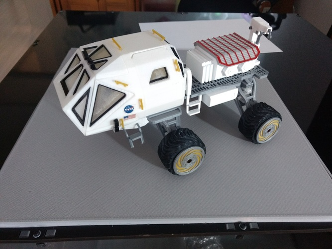 Martian Rover - The Martian - 3dPrintable - 3dFactory Brasil 3D Print 24619