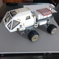 Small Martian Rover - The Martian - FDM 3dPrintable - 3dFactory Brasil 3D Printing 24619