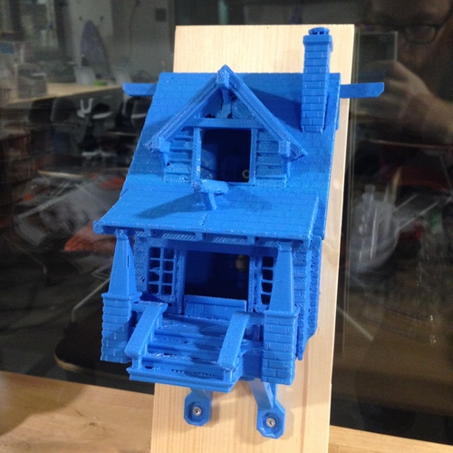 the American Craftsman Bungalow Birdhouse 3D Print 24627