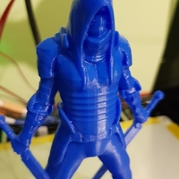 Small Faceless V2 3D Printing 24653