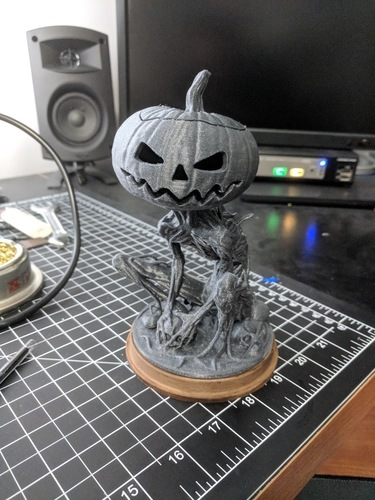 Pumpkin Monster 3D Print 24665
