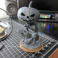 Small Pumpkin Monster 3D Printing 24665