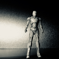 Small Iron Man Mark 6 3D Printing 24693