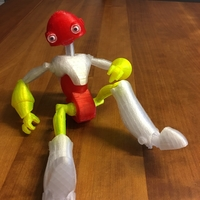 Small BeQui,  Jointed Robot 3D Printing 24728