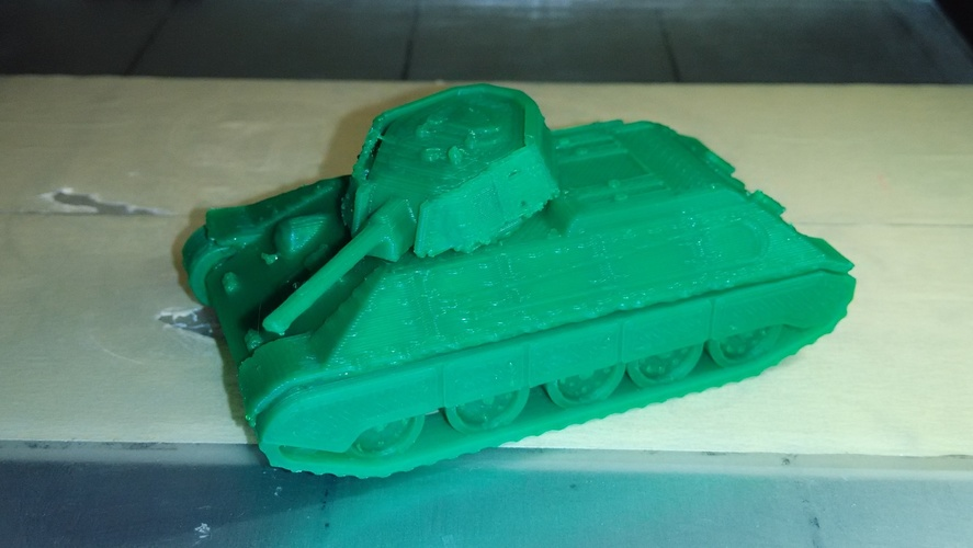 T-34/76 Tank Pack (Revised) 3D Print 24743