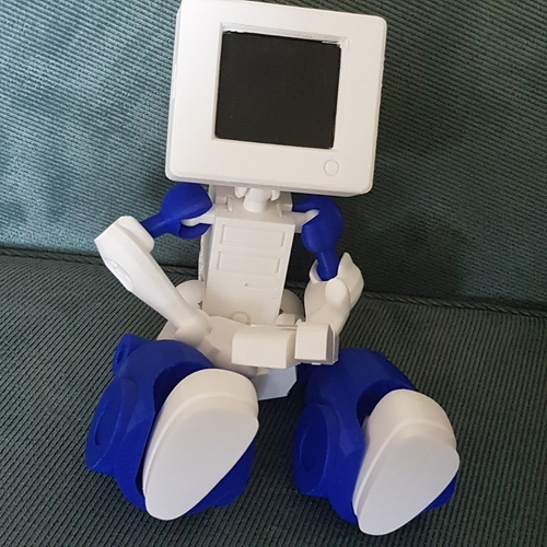 Cymon CyBot posable robot toy 3D Print 24764