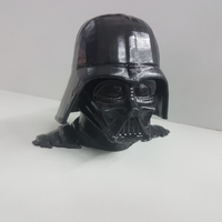 Small Darth Vader bust - Easy print 3D Printing 24773