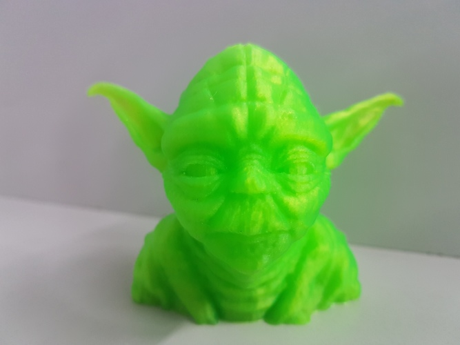 Yoda with Chin Support 3D Print 24777