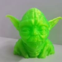 Small Yoda with Chin Support 3D Printing 24777