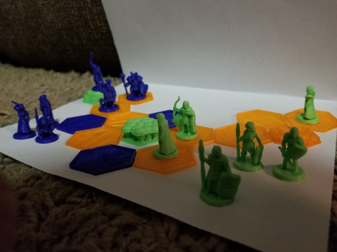 Pocket-Tactics: Core Set 1 (Fourth Edition) 3D Print 24808