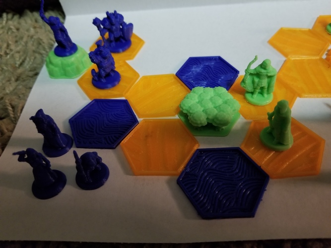 Pocket-Tactics: Core Set 1 (Fourth Edition) 3D Print 24809