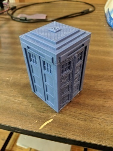 Tardis with drawers 3D Print 24839