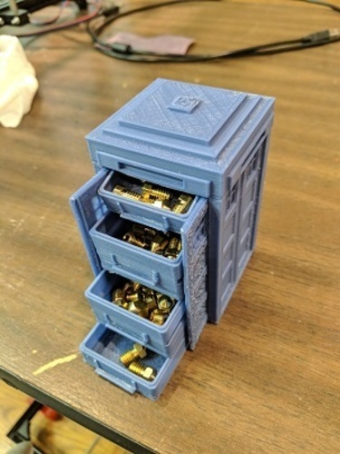 Tardis with drawers 3D Print 24840